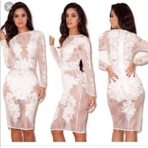 House of CB Nolita Lace Dress